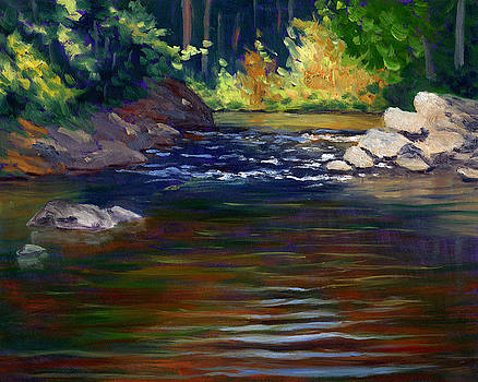 Streaming Reflections by Elaine Farmer
