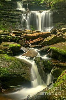 Adam Jewell - Streams Through The Rocks At Ricketts Glen