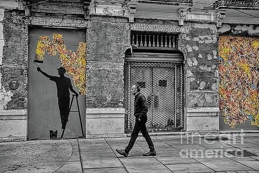 Street Art In Malaga Spain by Henry Kowalski