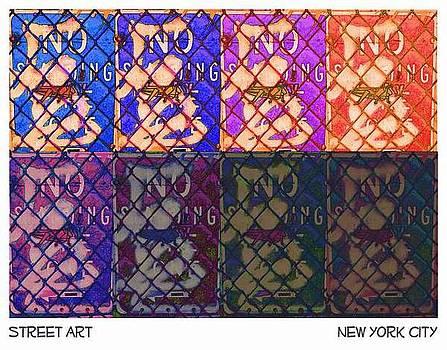 Street Art  by New York City Artist - Alexander Aristotle