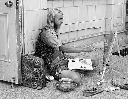 Street Artist by Barbara McMahon