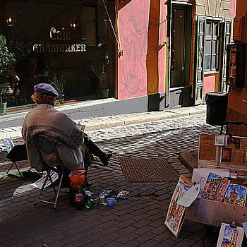 Street Artist Stockholm Sweden by Jim Kuhlmann