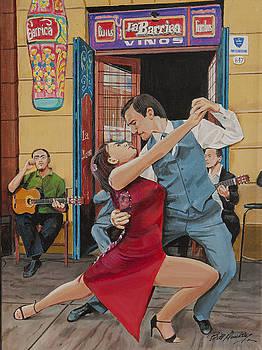 Street Dancing by Bill Dunkley