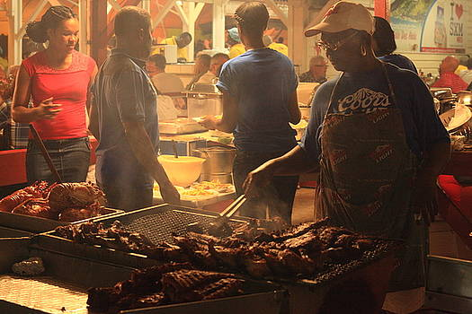 Street Grill at the Lolo's, St. Martin by Roupen  Baker
