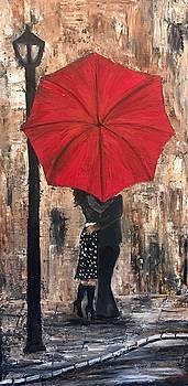 Street light romance by Jan Holman