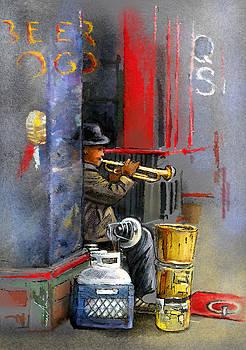 Miki De Goodaboom - Street Musician in Memphis