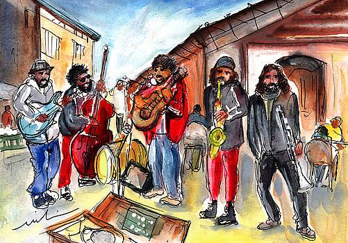 Miki De Goodaboom - Street Musicians In Sineu In Majorca
