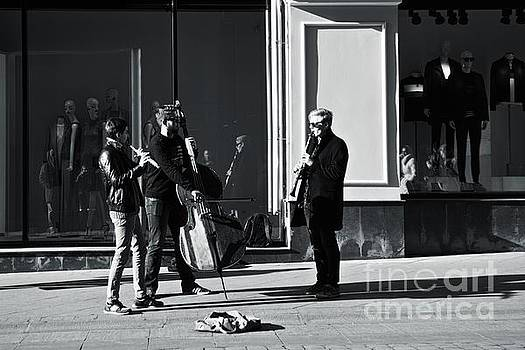 Street musicians by Magomed Magomedagaev