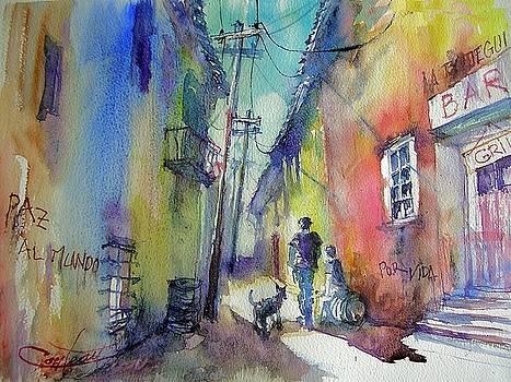 Street of la Havanna  by Christian Couteau