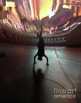 Street Performer-3 by Cheryl Del Toro