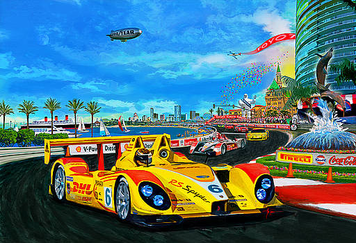 Street Racing by Alan Greene