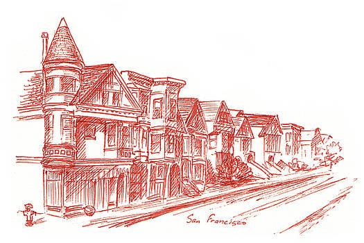 Irina Sztukowski - Streets Of San Francisco Fulton St
