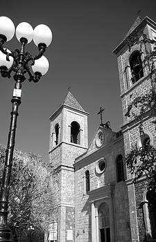 Stroll by Church by Uli Gonzalez