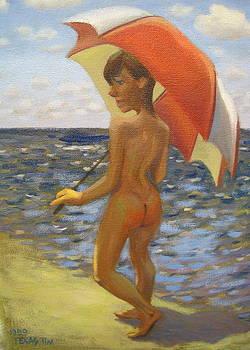 Strolling on the Beach  by Texas Tim Webb