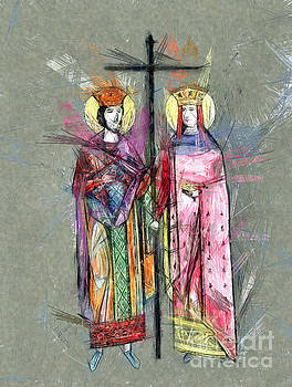 Sts. Constantine and Helen by Daliana Pacuraru