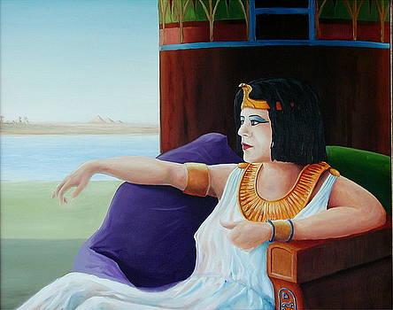 Study for Cleopatra by Scott Alcorn