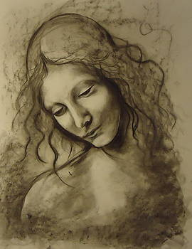 Study of Leonardo da Vinci by Julianna Wells