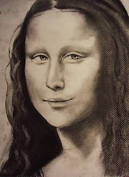 Study of the Mona Lisa by Julianna Wells