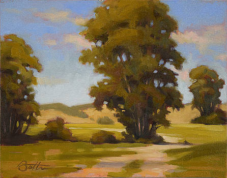 Study Of Trees by Todd Baxter