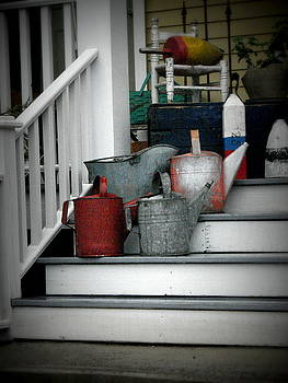 Stuff On The Porch by Rodney Williams