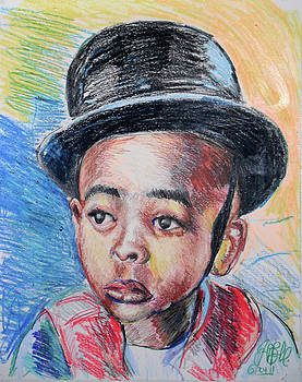 Jon Baldwin  Art - Stymie Little Rascals