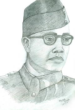 Subhash Chandra Bose by Archit Singh