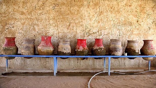 Sudan water jars by Marcus Best