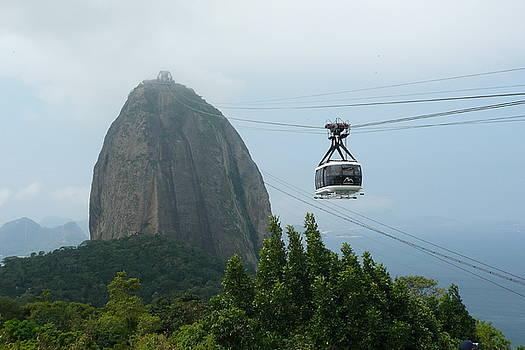 Sugar Loaf Mtn Brazil by Kathy Schumann