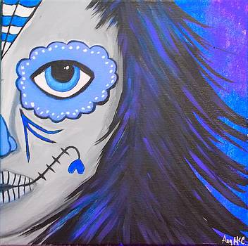 Sugar Skull by Angela McCool