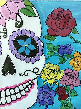 Sugar Skull by Tammy Cote