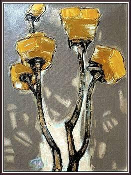 Suggestion of orange flowers  by Pemaro