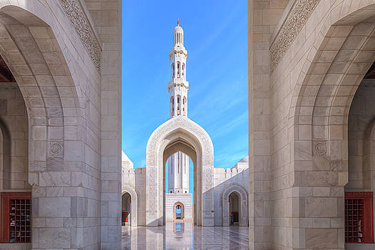 Sultan Qaboos Grand Mosque - Oman by Joana Kruse