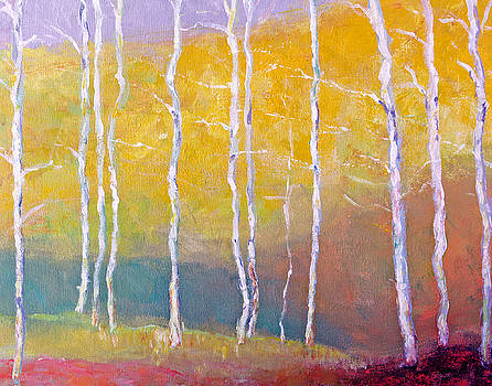 Summer Aspens by Benjamin Johnson