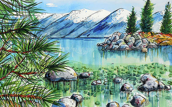 Summer At Lake Tahoe by Terry Banderas