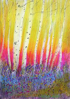 Summer Birch  by Linde Townsend