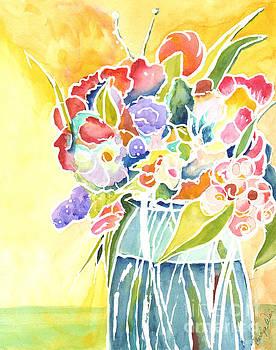 Summer Blooms by Carolyn Weir