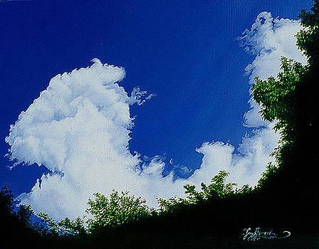 Summer Clouds III by Gary  Hernandez