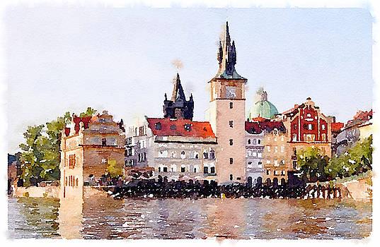 Summer Day in Prag by Tears of Colors Gallery