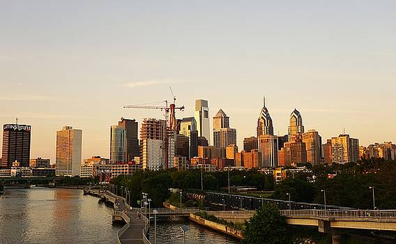 Summer Evening in Philadelphia by Ed Sweeney