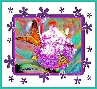 Summer Flower Feeding Frenzy by Shirley Moravec