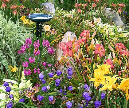 Summer Garden by Sue  Brehant