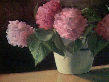 Summer Hydrangeas by Cynthia Vowell