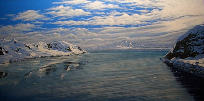 Summer in Antarctica by Rick Gallant