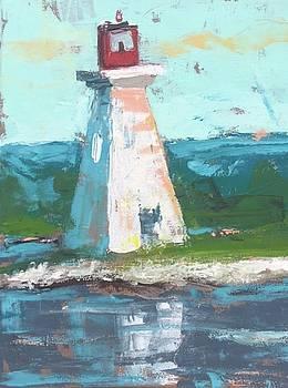 Summer Lighthouse by Susan E Jones