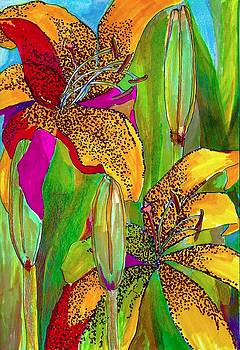 Summer lilies by Claudia Smaletz