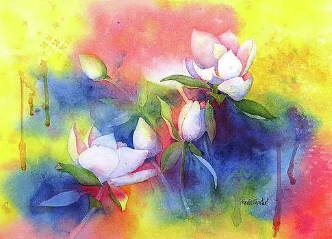 Summer Magnolias by Renee Chastant