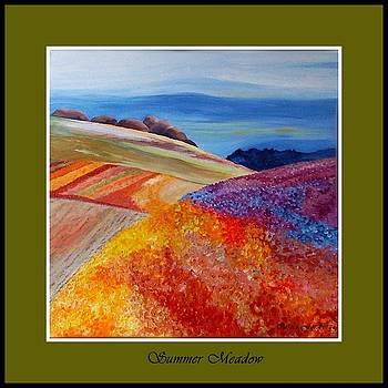 Summer Meadow by Carola Ann-Margret Forsberg