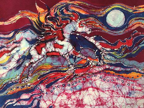 Summer North Wind by Carol Law Conklin