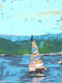 Summer Sailboat by Susan E Jones