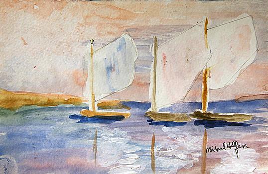 Summer Sails by Michael Helfen